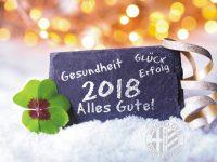 Alles Gute für 2018!